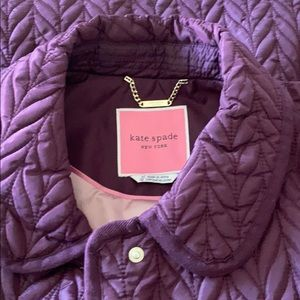 NWT! Kate Spade quilted snap button jacket. XL